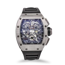 Richard Mille Chronograph 50mm Automatik gebraucht RM 011 Transparent