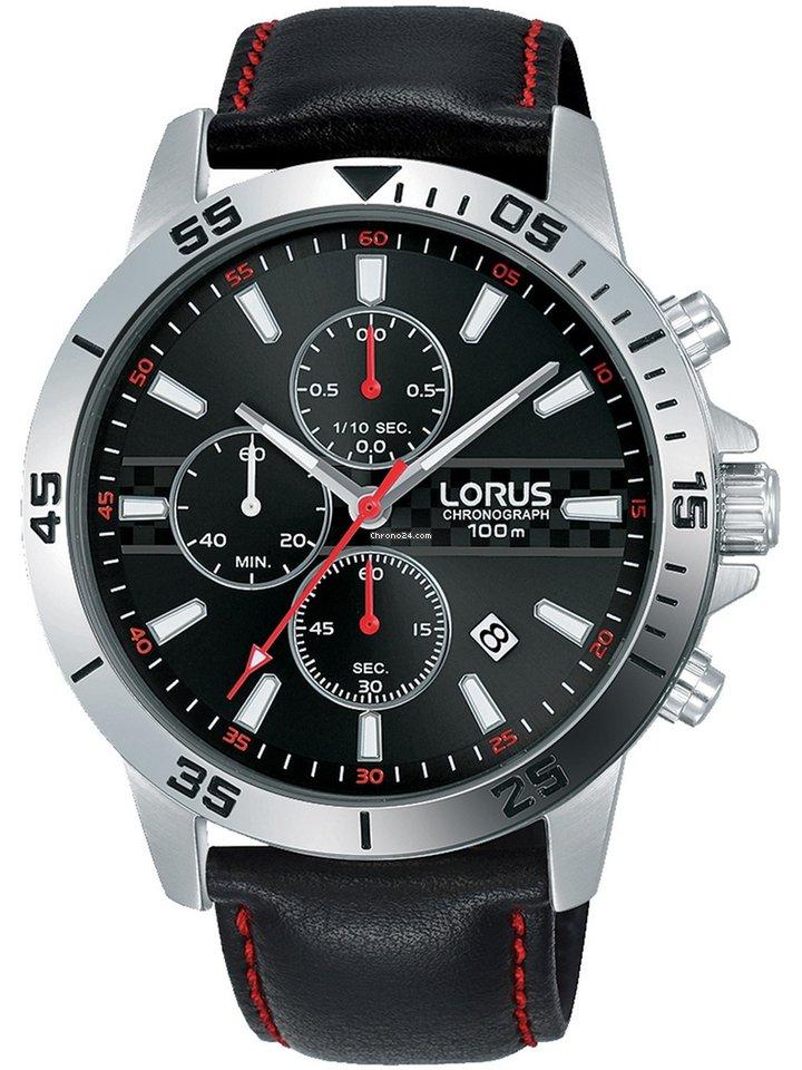 Lorus 10atm Chrono 44mm Rm313fx9 Herren NOXPw8n0k