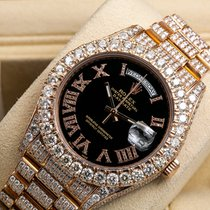 Rolex Day-Date II Rose gold 41mm Roman numerals United States of America, New York, NewYork