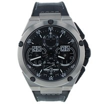 IWC Ingenieur Perpetual Calendar Digital Date-Month Titanium 46mm Black