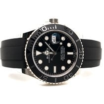 Rolex Yacht-Master 42 White gold 42mm Black No numerals United States of America, New York, New York