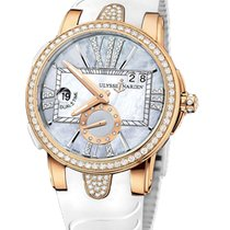 Ulysse Nardin Rose gold Automatic new Executive Dual Time Lady