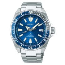 Seiko Prospex Steel 43.8mm Blue
