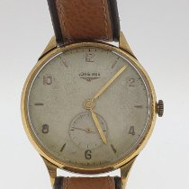 Longines Yellow gold 37mm Manual winding pre-owned