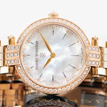 Harry Winston Premier Rose gold 31mm Mother of pearl United States of America, New Jersey, Englewood