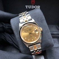 Tudor Prince Date Gold/Steel 36mm Champagne