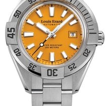 Louis Erard La Sportive Steel 44mm Orange