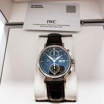 IWC Tantalum Automatic 41mm pre-owned Portofino Chronograph