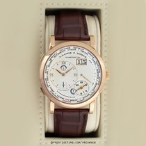 A. Lange & Söhne Rose gold Manual winding Silver 41.9mm pre-owned Lange 1