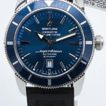 Breitling Superocean Héritage 46 Acier 46mm Bleu Sans chiffres