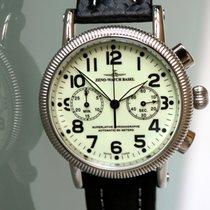 Zeno-Watch Basel Steel 44mm Automatic 98082-s9 new