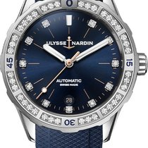 Ulysse Nardin Lady Diver Steel 39mm Blue United States of America, New York, Airmont