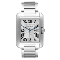 Cartier Tank Anglaise Steel 47mm Silver Roman numerals United States of America, Georgia, Atlanta