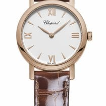 Σοπάρ (Chopard) CLASSIC 18 CT ROSE GOLD WHITE DIAL 127387-5201 T