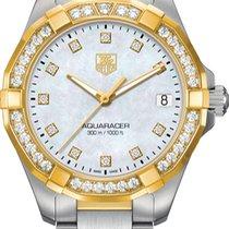 TAG Heuer Aquaracer Lady new Quartz Watch with original box and original papers WAY1353.BD0917