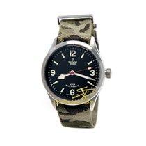 Tudor Heritage Ranger Military Black dial