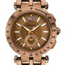 Versace Stahl Quarz VAH06-0016 neu
