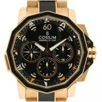 Corum Admiral's Cup 986-691-13-v761 In Oro Rosa E Carbonio, 44mm