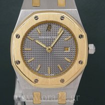 Audemars Piguet Royal Oak Medium 31mm Grey Dial 18k Gold Steel