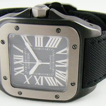 Cartier Automatic 2017 new Santos 100 Black