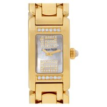 Audemars Piguet Yellow gold Quartz Mother of pearl No numerals pre-owned Promesse