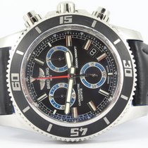 Breitling Superocean Chronograph M2000 new strap / full set...