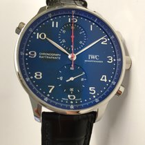 IWC Portugieser Chronograph 371217 neu