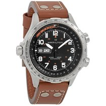 Hamilton Men's H77755533 Khaki X-Wind Day Date Watch