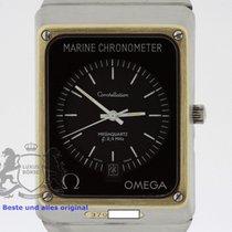 Omega Cronómetro 32.5mm Cuarzo 1977 usados Constellation (Submodel) Negro