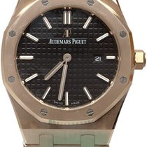 Audemars Piguet Royal Oak Lady Oro rosado 33mm Marrón