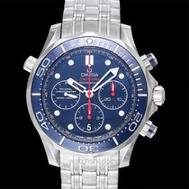 Omega Seamaster Diver 300 M Steel 44mm Blue United States of America, California, San Mateo
