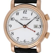Waldan International : Retro Alarm :  0850R :  18k Rose gold