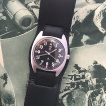 CWC  W10 British Army Issued Military Watch 1977 mechanical...