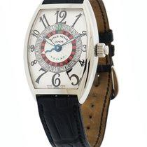 Franck Muller 5850 VEGAS Roulette Stainless Steel Watch