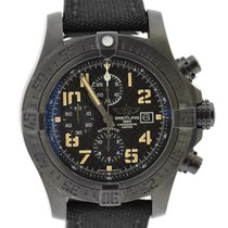 Breitling Super Avenger II Steel 48mm Black United States of America, New York, New York