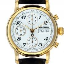 Montblanc Chronograph 38mm Automatik 2010 gebraucht Star Weiß