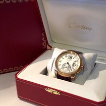 Cartier 42mm Automático 2010 usados Calibre de Cartier (Submodel) Plata