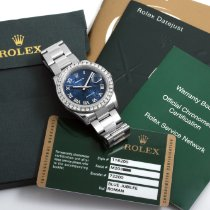 Rolex Datejust Steel 36mm Blue Roman numerals