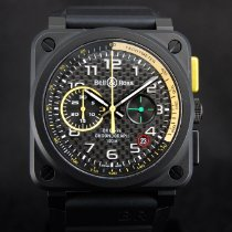 Bell & Ross Chronograph 42mm Automatic new BR 03-94 Chronographe Black