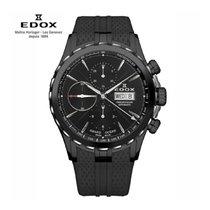 Edox Acier 45mm Remontage automatique 01113 357N NIN nouveau