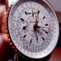 Breitling Montbrillant Datora Rose gold 43mm Silver United States of America, North Carolina, Winston Salem