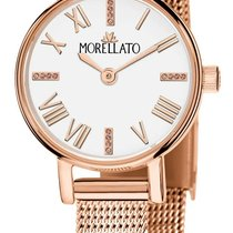 Morellato Gold/Stahl 24mm Quarz R0153142530 neu