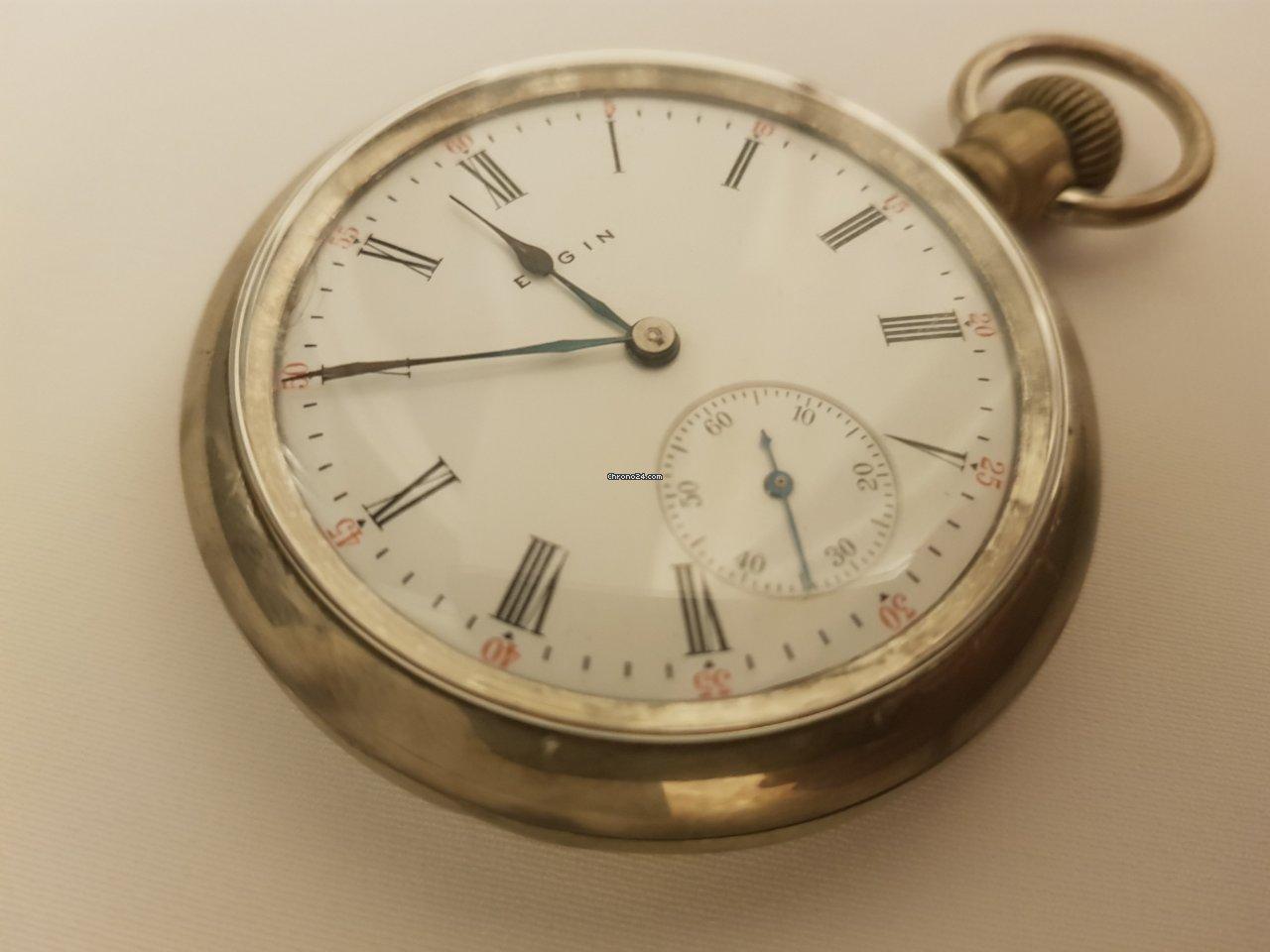 Elgin Pocket Watch Por 219 Para Vender Por Um Vendedor Particular Na Chrono24