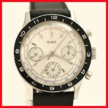 Gallet pre-owned Manual winding 38mmmm White Plastic Not water resistant
