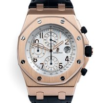 Audemars Piguet Royal Oak Offshore Rose gold 42mm Silver