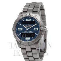 Breitling Aerospace Titanium 40mm Blue Arabic numerals United States of America, New York, Hartsdale