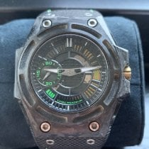 Linde Werdelin Carbon Automatic Black No numerals 44mm pre-owned SpidoLite