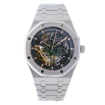 Audemars Piguet Royal Oak Double Balance Wheel Openworked 15407ST.OO.1220ST.01 2019 новые