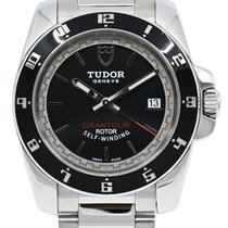 Tudor Grantour Date Steel 42mm Black