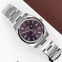 Rolex Oyster Perpetual 34 Steel 34mm Pink